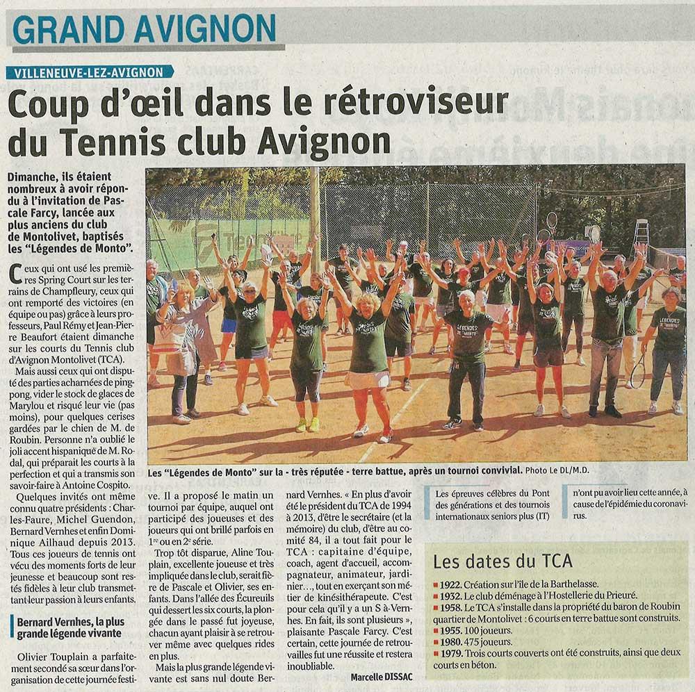 tennis club avignon